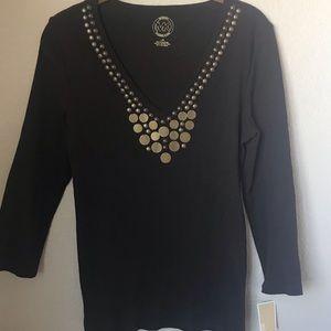 Michael Michael Kors Ribbed Shirt Size Large NWT